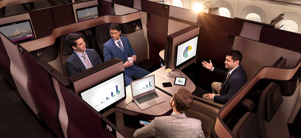 Qatar Airways Business Class 6